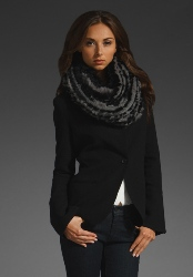 вязание шарфа снуд косами схемы описание.