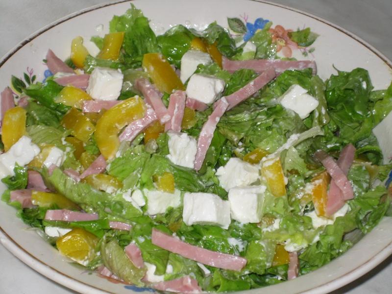 Морская пена салат рецепт