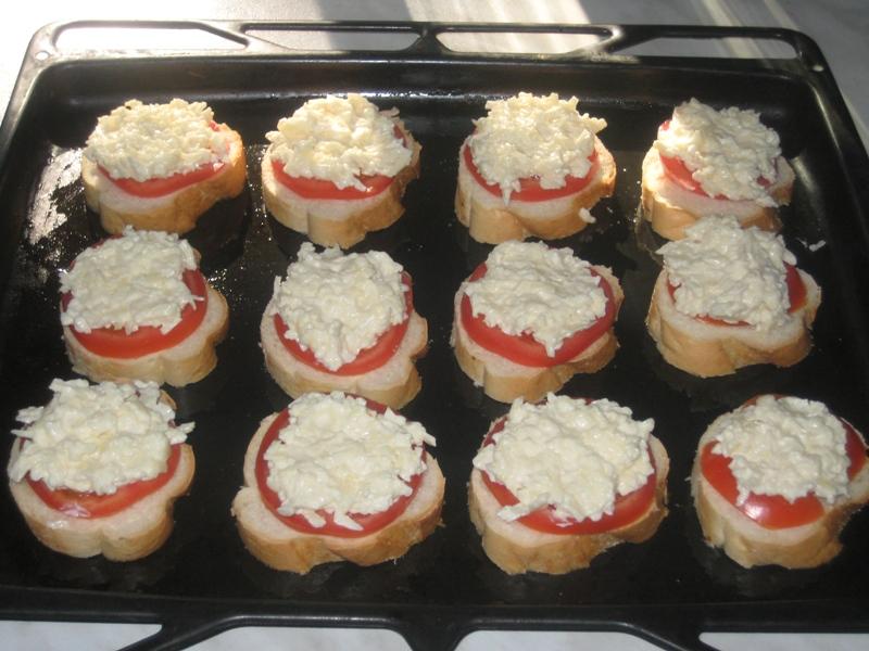 горячие закуски в духовке рецепты