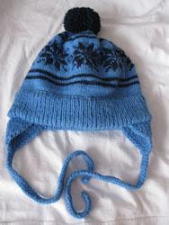 Вязаная шапочка от Юлии