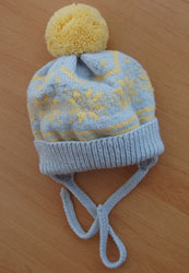 Вязаная шапка от Maryanka
