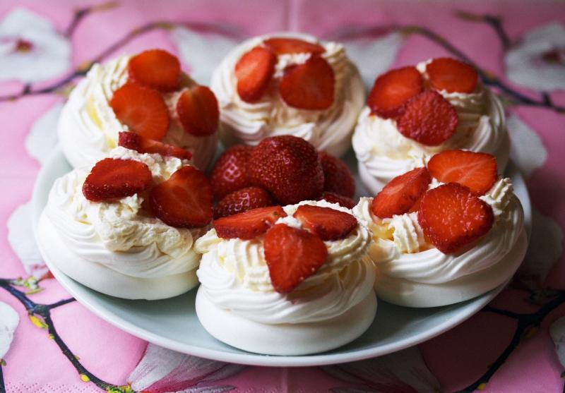 Торт Павлова (Pavlova)