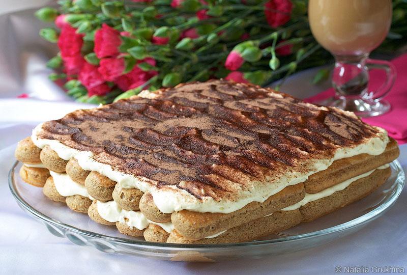 Торт-десерт «Тирамису»
