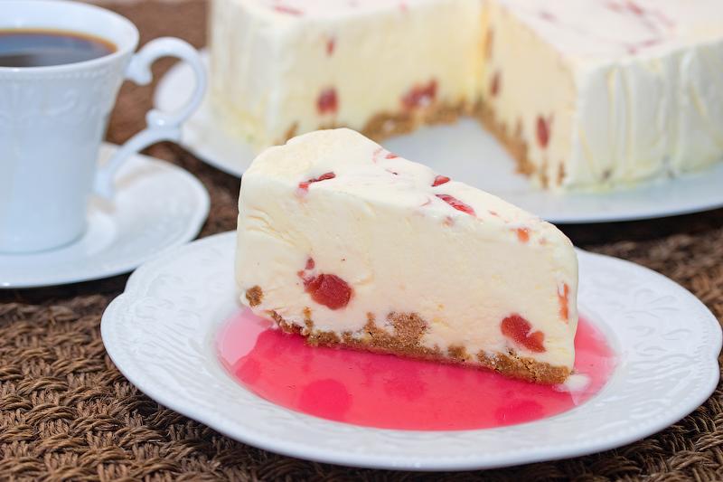 Чизкейк-мороженое (Iskake med ost)