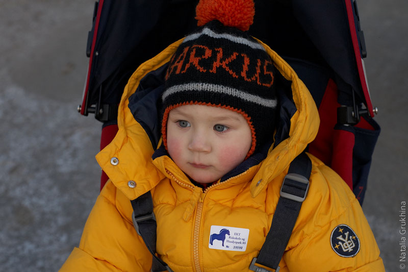 детская шапка с ушками крючком.