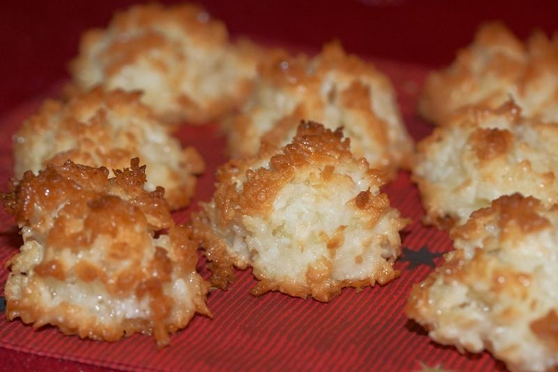 печенье кокосовое рецепт с фото