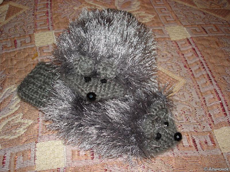 Варежки-мышки от Альчонка