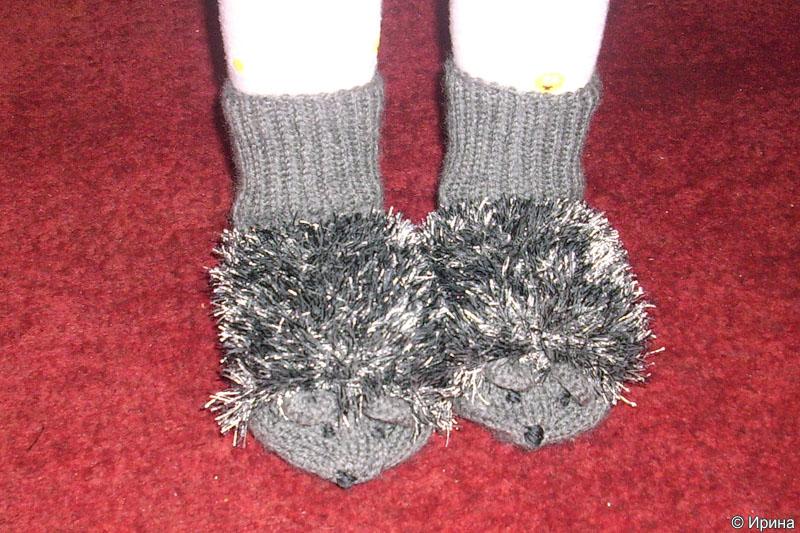 Варежки и носочки в виде