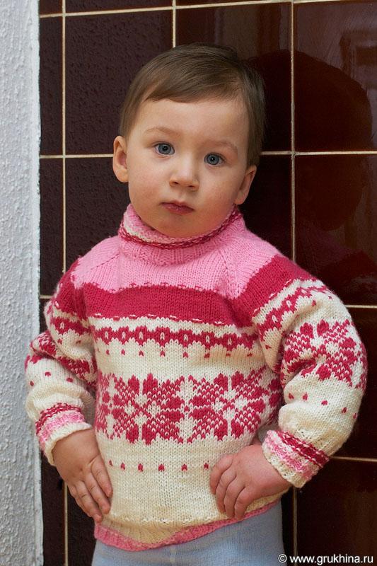 Схемы вязания свитеров спицами на