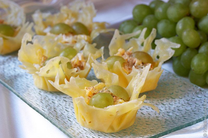 сырные корзиночки с фото рецепт