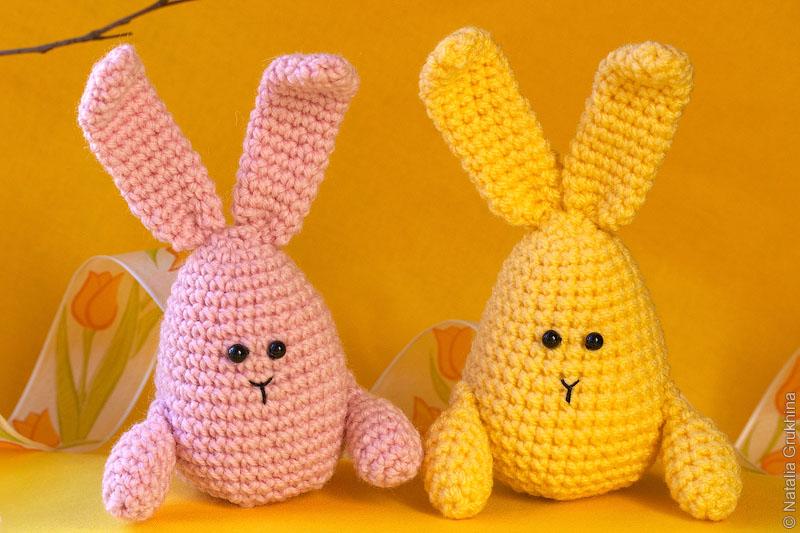 Для вязания кролика крючком
