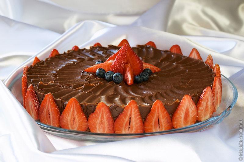Торт «Шоколадная мечта» (Sjokoladedrøm)