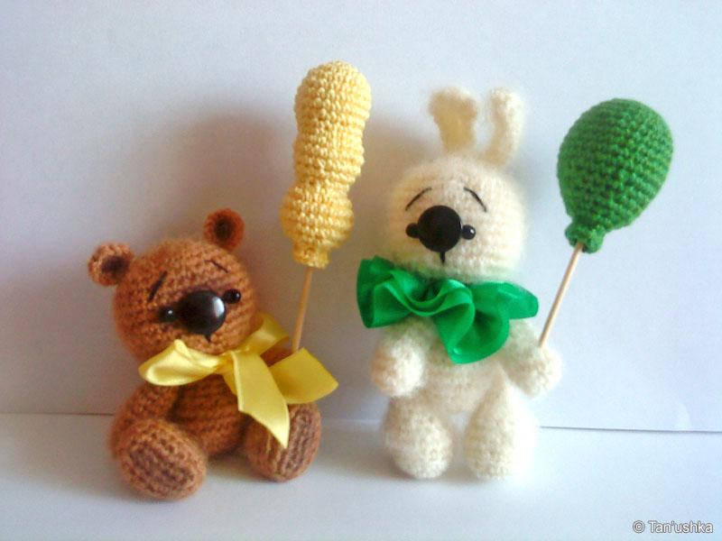 Вязаные игрушки от Tan'ushka
