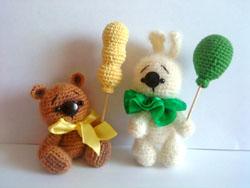 Вязаные игрушки от Tanushka