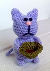 Котик, связанный крючком от Патамушта