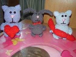 Вязаные игрушки от Liudmila31