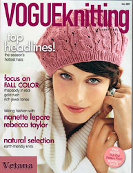 Берет из Vogue Knitting