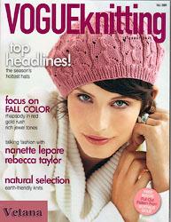 Берет из Vogue Knitting