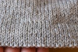 Вязание края свитера. Шаг 4