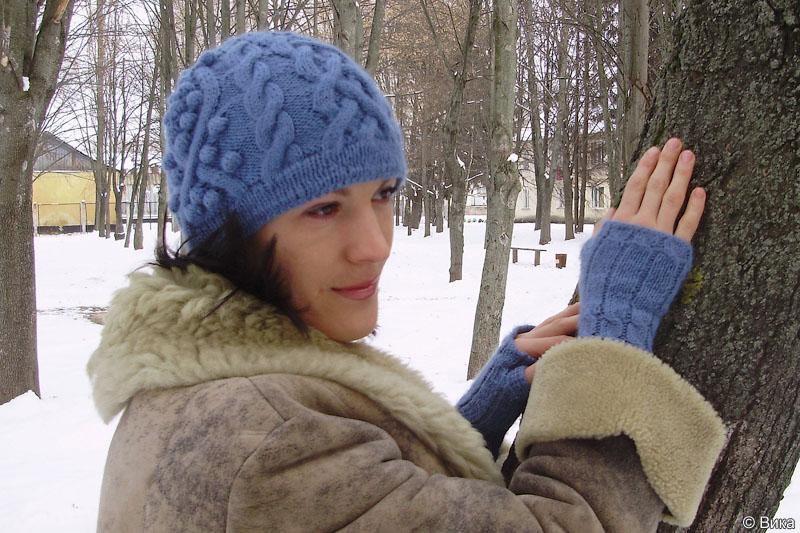 Схемы вязания зимних шапок на мальчика.