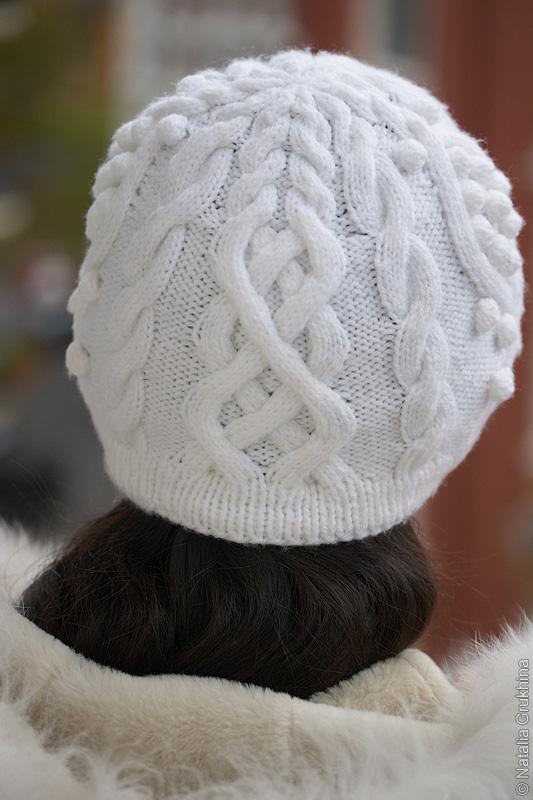 ...пряжи на российском рынке является ) - 100 гр.; - Спицы чулочные 4 - 5... Для вязания шапки спицами нам потребуется.