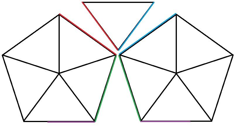 Схема окончательного соединения колючек Ежика