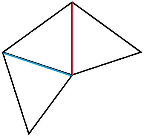 Как соединить три колючки у смешарика Ежика