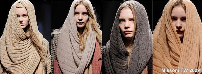 воротник-хомут, чем шарф, и связала его.