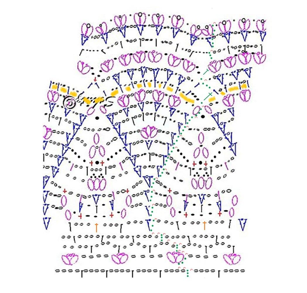 юбочку по вот этой схемке, спасибо девочкам с соседнего форума.