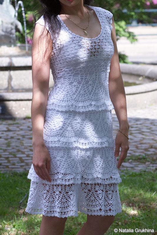 Для вязания летнего платья