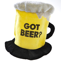 Шляпа-цилиндр для фаната