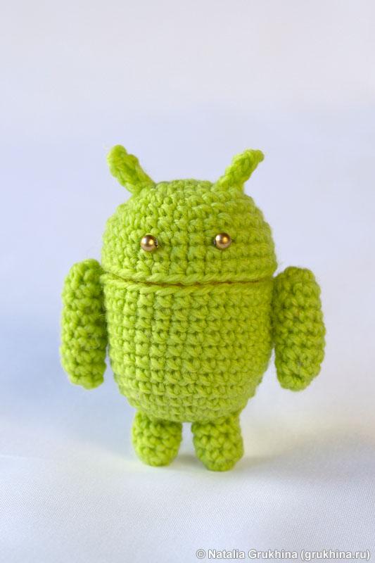 Для вязания робота Андроида
