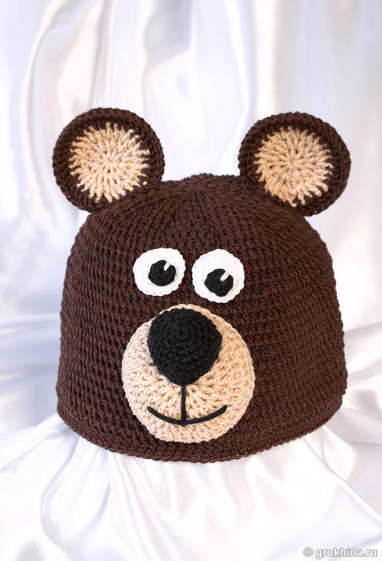 Для вязания детской шапки в