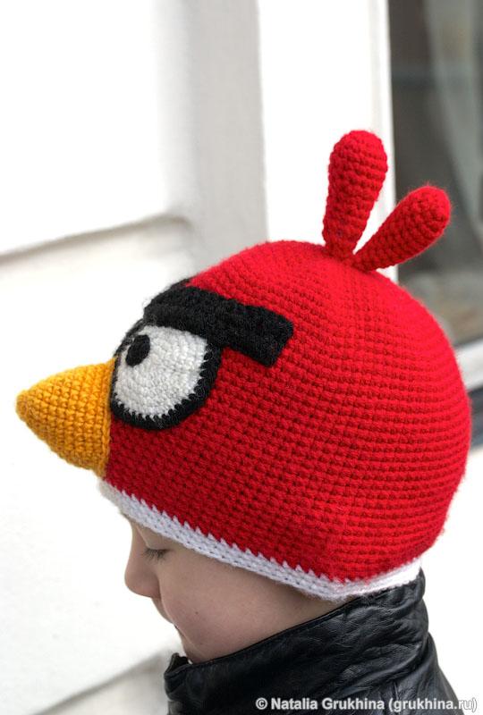 Детская шапка Angry birds