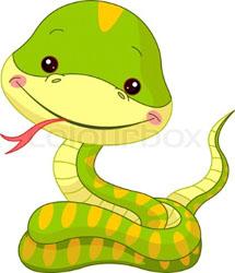 Вязаная змея (крючок)