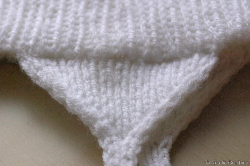 вязаная шапочка со снежинками шапочки и панамки схемы вязания