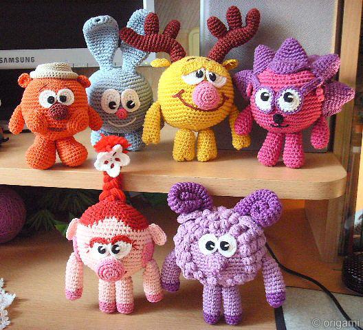 Вязаные игрушки от Евгении