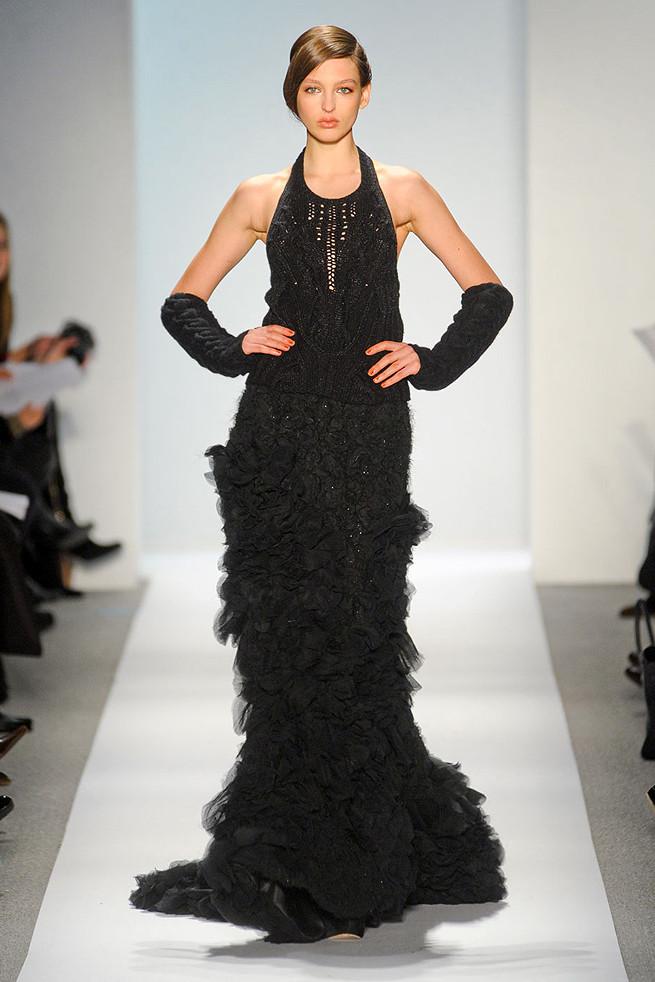 Стильное вязаное платье от Шанель. Вязание 27