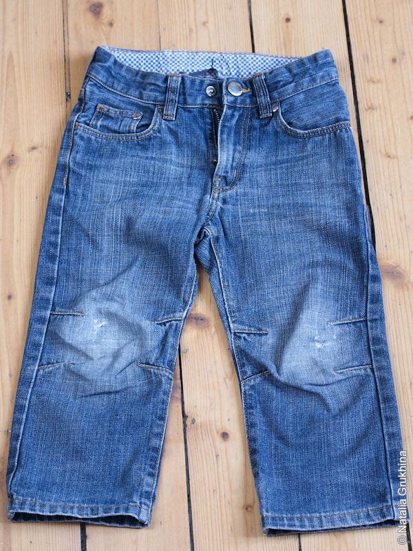 Из джинс капри своими руками 26