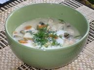 Норвежский рыбный суп (fiskesuppe)