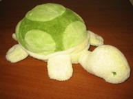 Мягкая черепашка - первая игрушка для Маркуши