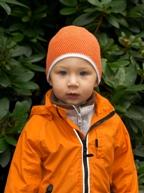 Хлопковая шапочка на осень