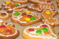 Рождественское печенье (Pepperkaker)