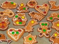 Готовим вместе рождественское печенье