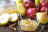 Яблочно-грушевое варенье с корицей