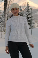 Арановый свитер из коллекции Burberry